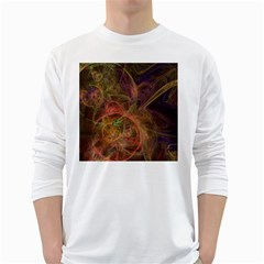 Abstract Colorful Art Design Long Sleeve T Shirt
