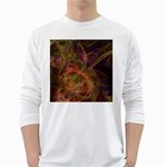 Abstract Colorful Art Design Long Sleeve T-Shirt Front