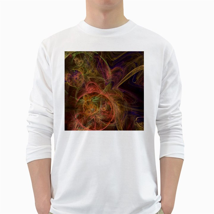 Abstract Colorful Art Design Long Sleeve T-Shirt
