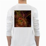 Abstract Colorful Art Design Long Sleeve T-Shirt Back