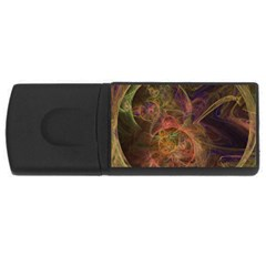 Abstract Colorful Art Design Rectangular Usb Flash Drive