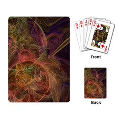 Abstract Colorful Art Design Playing Cards Single Design