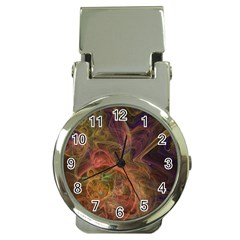 Abstract Colorful Art Design Money Clip Watches