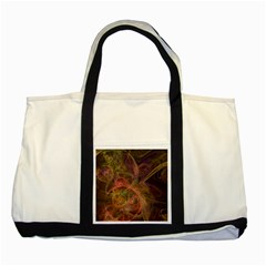 Abstract Colorful Art Design Two Tone Tote Bag