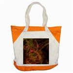 Abstract Colorful Art Design Accent Tote Bag Front