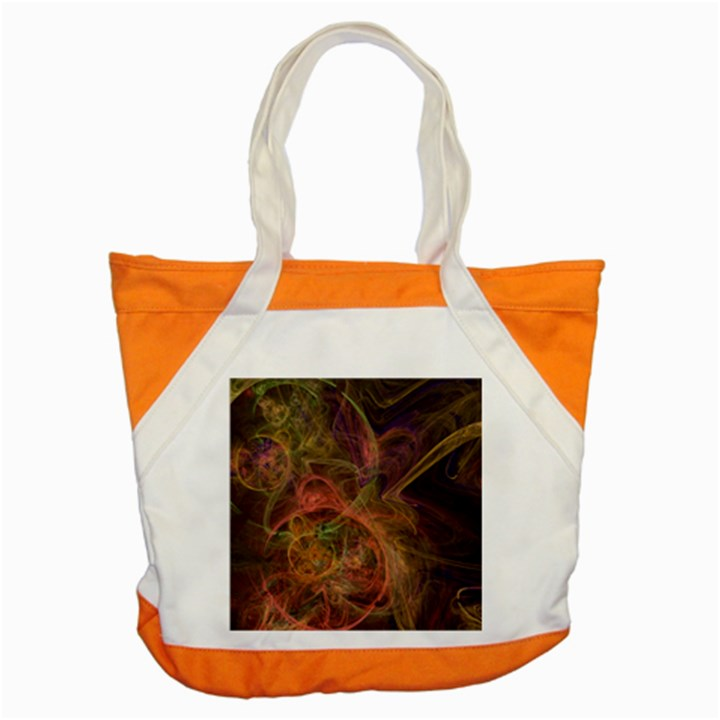 Abstract Colorful Art Design Accent Tote Bag