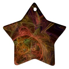Abstract Colorful Art Design Star Ornament (two Sides)