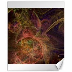 Abstract Colorful Art Design Canvas 16  X 20