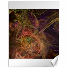 Abstract Colorful Art Design Canvas 18  X 24
