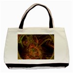 Abstract Colorful Art Design Basic Tote Bag (Two Sides) Back