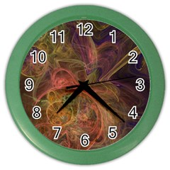 Abstract Colorful Art Design Color Wall Clock
