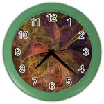 Abstract Colorful Art Design Color Wall Clock Front