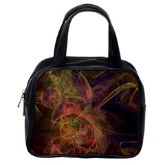Abstract Colorful Art Design Classic Handbag (one Side)