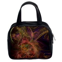 Abstract Colorful Art Design Classic Handbag (two Sides)