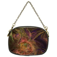 Abstract Colorful Art Design Chain Purse (one Side)