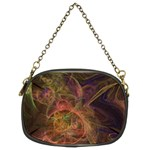 Abstract Colorful Art Design Chain Purse (Two Sides) Front