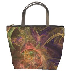 Abstract Colorful Art Design Bucket Bag