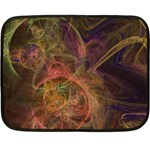 Abstract Colorful Art Design Double Sided Fleece Blanket (Mini)  35 x27 Blanket Back