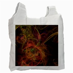 Abstract Colorful Art Design Recycle Bag (one Side)