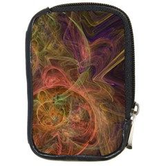 Abstract Colorful Art Design Compact Camera Leather Case
