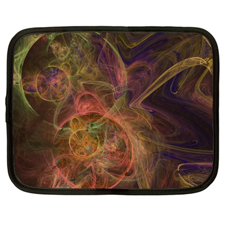 Abstract Colorful Art Design Netbook Case (XL)