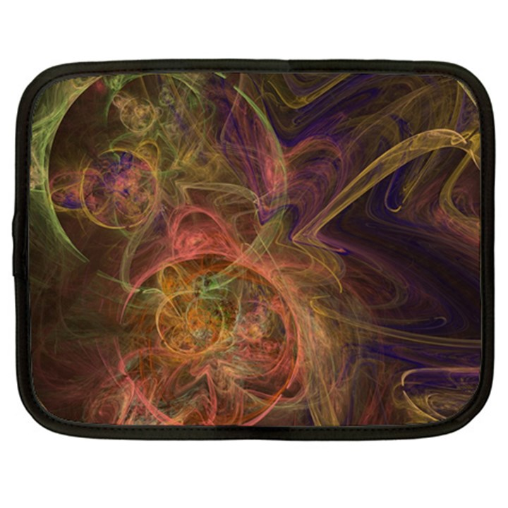 Abstract Colorful Art Design Netbook Case (XXL)