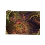 Abstract Colorful Art Design Cosmetic Bag (Large) Front