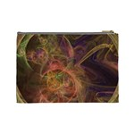 Abstract Colorful Art Design Cosmetic Bag (Large) Back