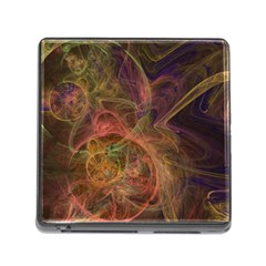 Abstract Colorful Art Design Memory Card Reader (square 5 Slot)