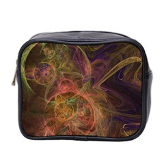 Abstract Colorful Art Design Mini Toiletries Bag (two Sides)