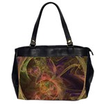 Abstract Colorful Art Design Oversize Office Handbag (2 Sides) Front