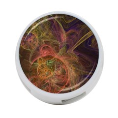 Abstract Colorful Art Design 4 Port Usb Hub (one Side)