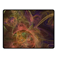 Abstract Colorful Art Design Fleece Blanket (small)