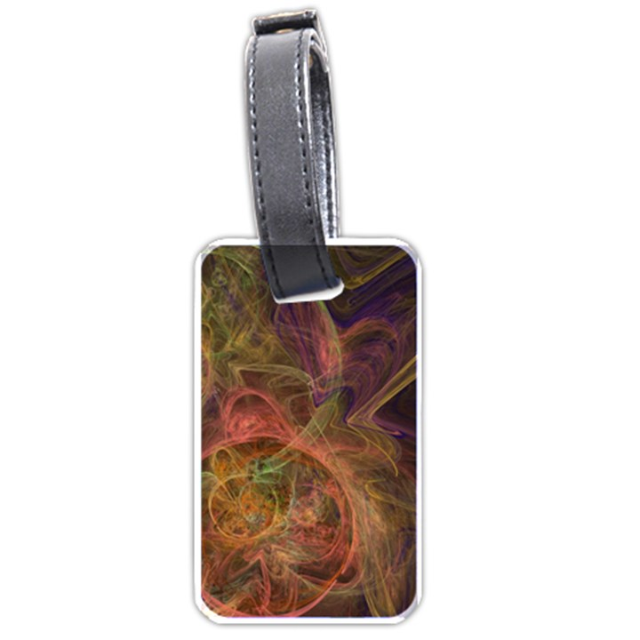 Abstract Colorful Art Design Luggage Tags (One Side)