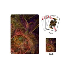 Abstract Colorful Art Design Playing Cards (mini)