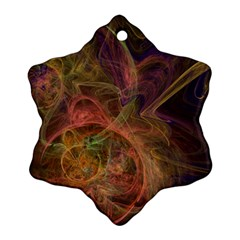 Abstract Colorful Art Design Ornament (snowflake)