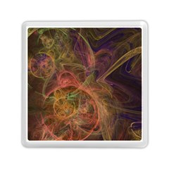 Abstract Colorful Art Design Memory Card Reader (square)