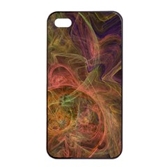 Abstract Colorful Art Design Apple Iphone 4/4s Seamless Case (black)