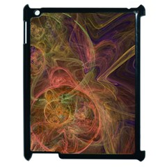 Abstract Colorful Art Design Apple Ipad 2 Case (black)