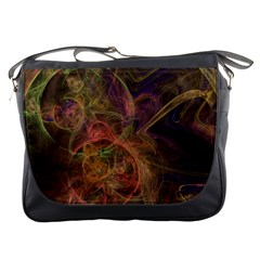 Abstract Colorful Art Design Messenger Bag