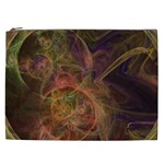 Abstract Colorful Art Design Cosmetic Bag (XXL) Front