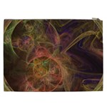 Abstract Colorful Art Design Cosmetic Bag (XXL) Back