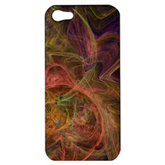Abstract Colorful Art Design Apple Iphone 5 Hardshell Case