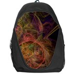 Abstract Colorful Art Design Backpack Bag Front