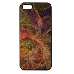 Abstract Colorful Art Design Apple Iphone 5 Seamless Case (black)