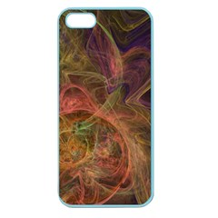 Abstract Colorful Art Design Apple Seamless Iphone 5 Case (color)