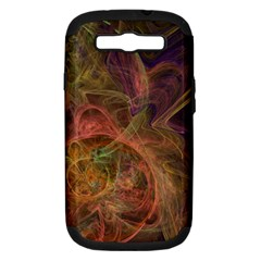 Abstract Colorful Art Design Samsung Galaxy S Iii Hardshell Case (pc+silicone)