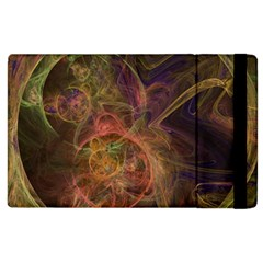 Abstract Colorful Art Design Apple Ipad 2 Flip Case