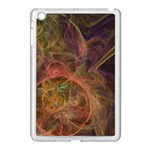Abstract Colorful Art Design Apple iPad Mini Case (White) Front