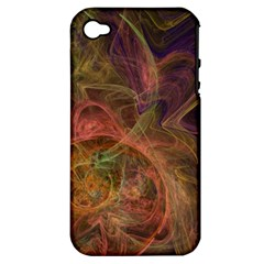 Abstract Colorful Art Design Apple Iphone 4/4s Hardshell Case (pc+silicone)